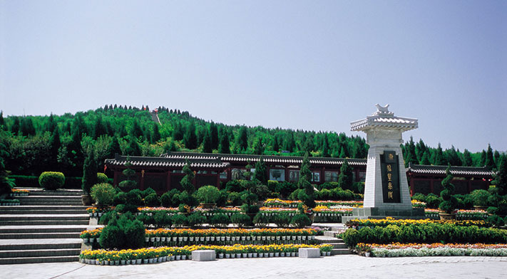 Mausoleum of the First Qin Emperor in Xian