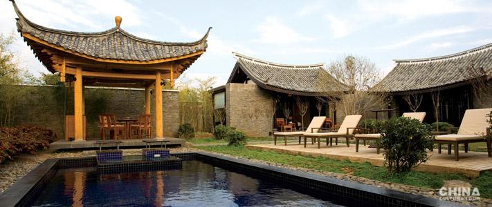 luxury hotels in China for traveling.