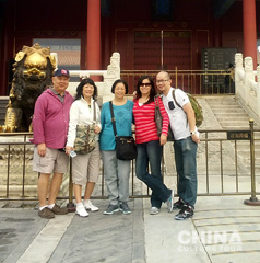 Michelle Family Tailor-made a China Tour to Beijing,  Guilin , Hong Kong and Macau