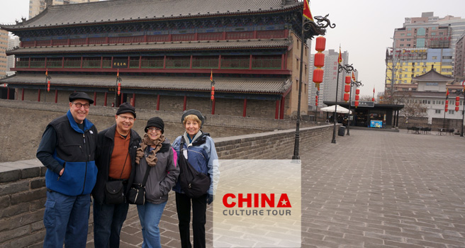 Mickey from America Tailor-made a China Tour to Beijing, Xian, and Shanghai.