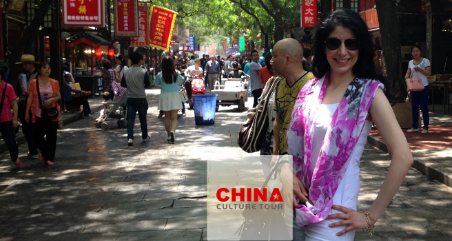 Arshamah from Canada Tailor-made a China Tour