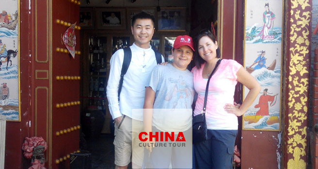 Carla from America Tailor-made a China Tour