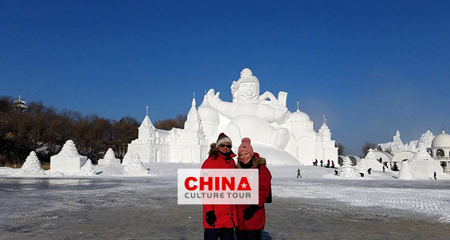 Bruce and Jennifer Tailor-made a tour to Harbin and Guilin.