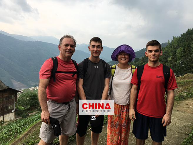 Marie Family Toured to Beijing, Pingyao, Xian, Guilin and Shanghai