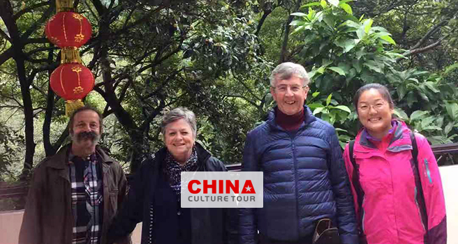 Jenny and Jacques from UK and France customized a 18 Days Beijing Xian Guilin Hangzhou Suzhou and Shanghai Tour