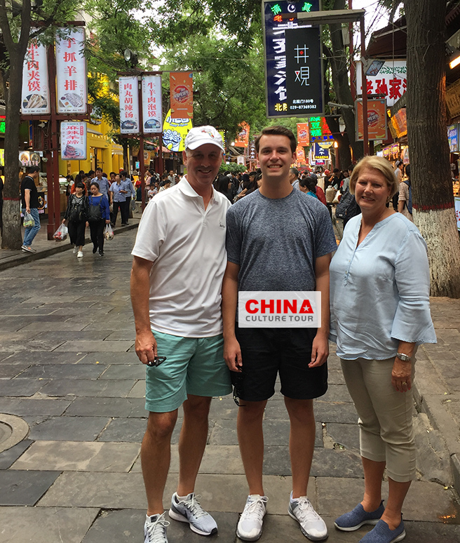 Thompson family of 3 from America Customized a 12 Days Beijing Xian Shanghai and Hong Kong Tour
