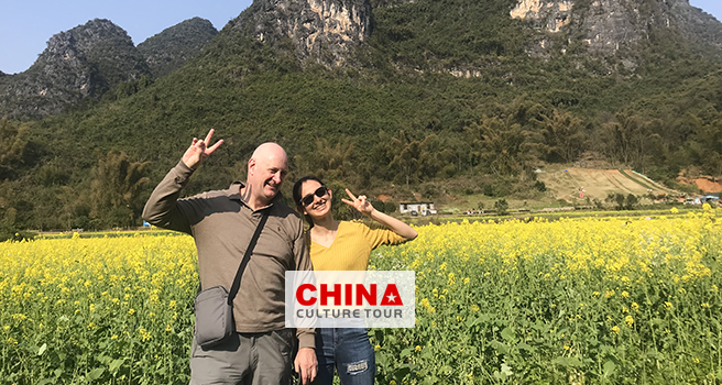 Sandra from UK customized a 19 Days Beijing Xian Guilin and Zhangjiajie Tour