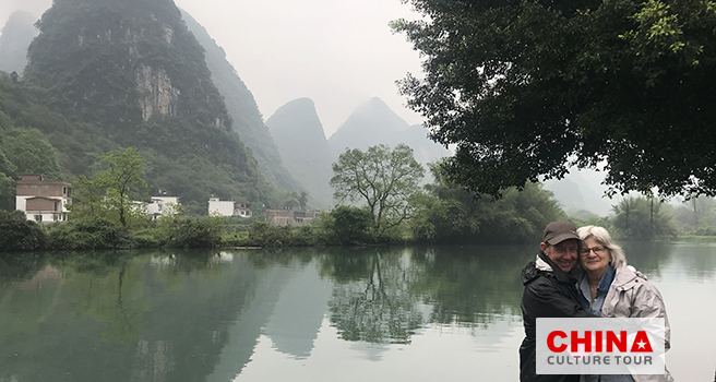 Julie, Willie and Jenny from Australia Customized a 15 Days Beijing Xian Chengdu Guilin Suzhou and Shanghai Tour