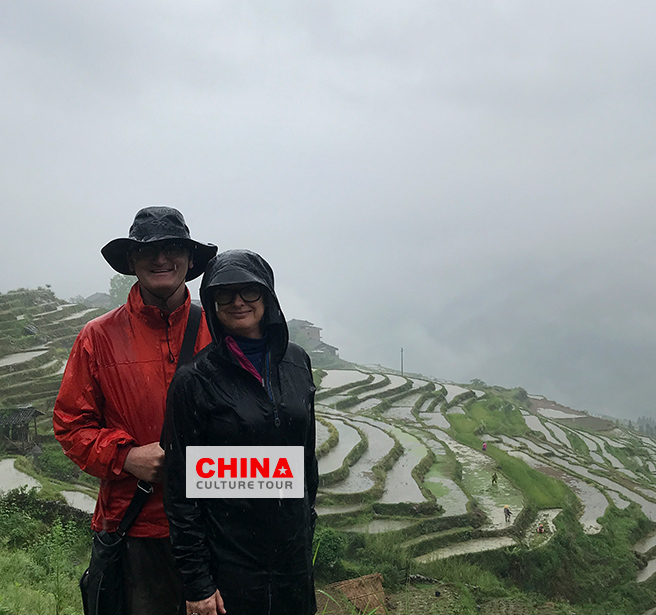 Jeffrey Friends of 4 from America Customized a 10 Days Beijing Shanghai Guilin and Hong Kong Tour