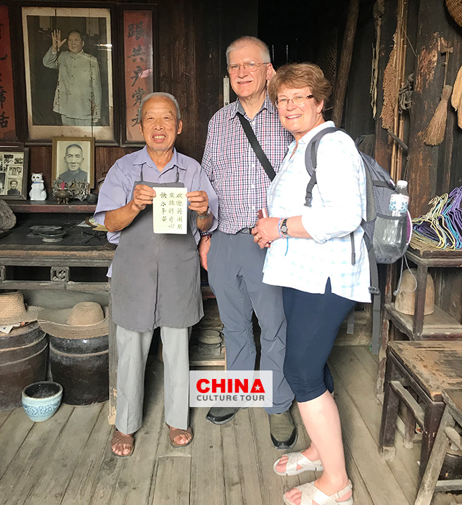 Sarah and Wynn from UK customized a 14 days Beijing Xian Guilin and Shanghai Tour