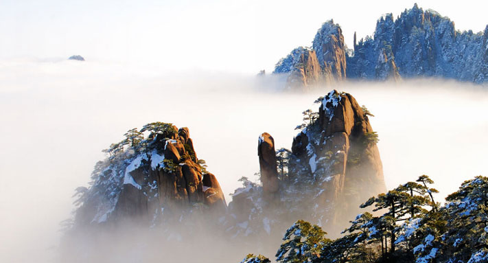 The Best Season to Mt. Huang Scenic Spot Is on the Way