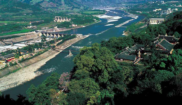 World Heritage Site Mount Qingcheng And The Dujiangyan