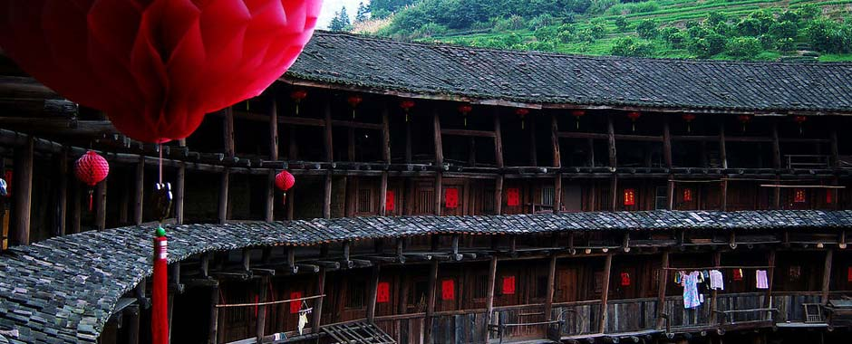 The Hakka Earth Buildings in Fujian