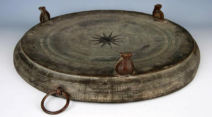 Zhuang Nationality Bronze Drum Custom