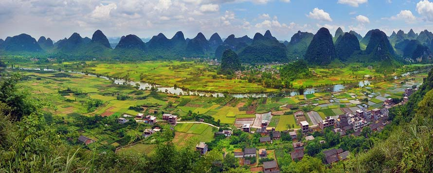 Guilin Terraced Fields and Guilin Tours