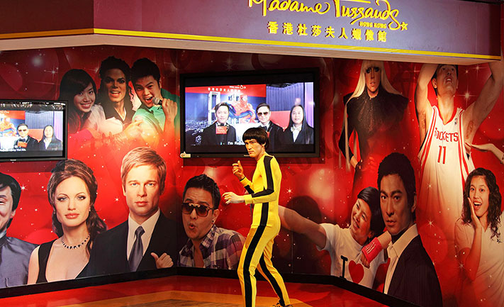 Hong kong Madame Tussauds