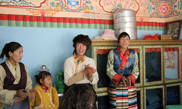An Unforgettable Experience with the Tibetans