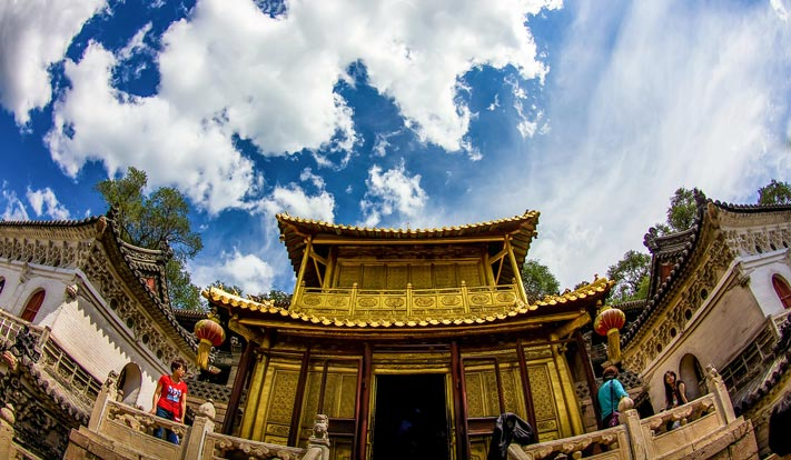 Attractions in Wutai Mountain