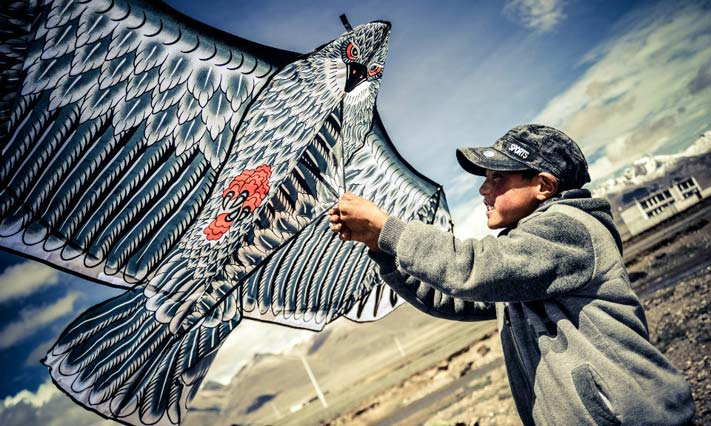 Lhasa Kite Making Skills