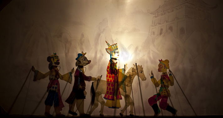Chinese Shadow Puppet Show